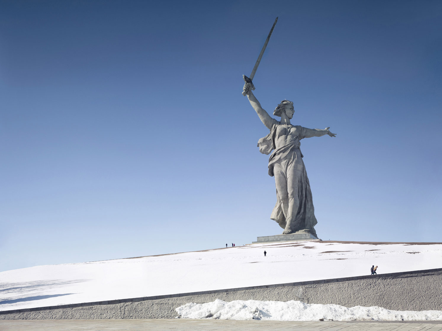 The Motherland Call, 87 m (285 ft), 1967 - Volgograd, Russia