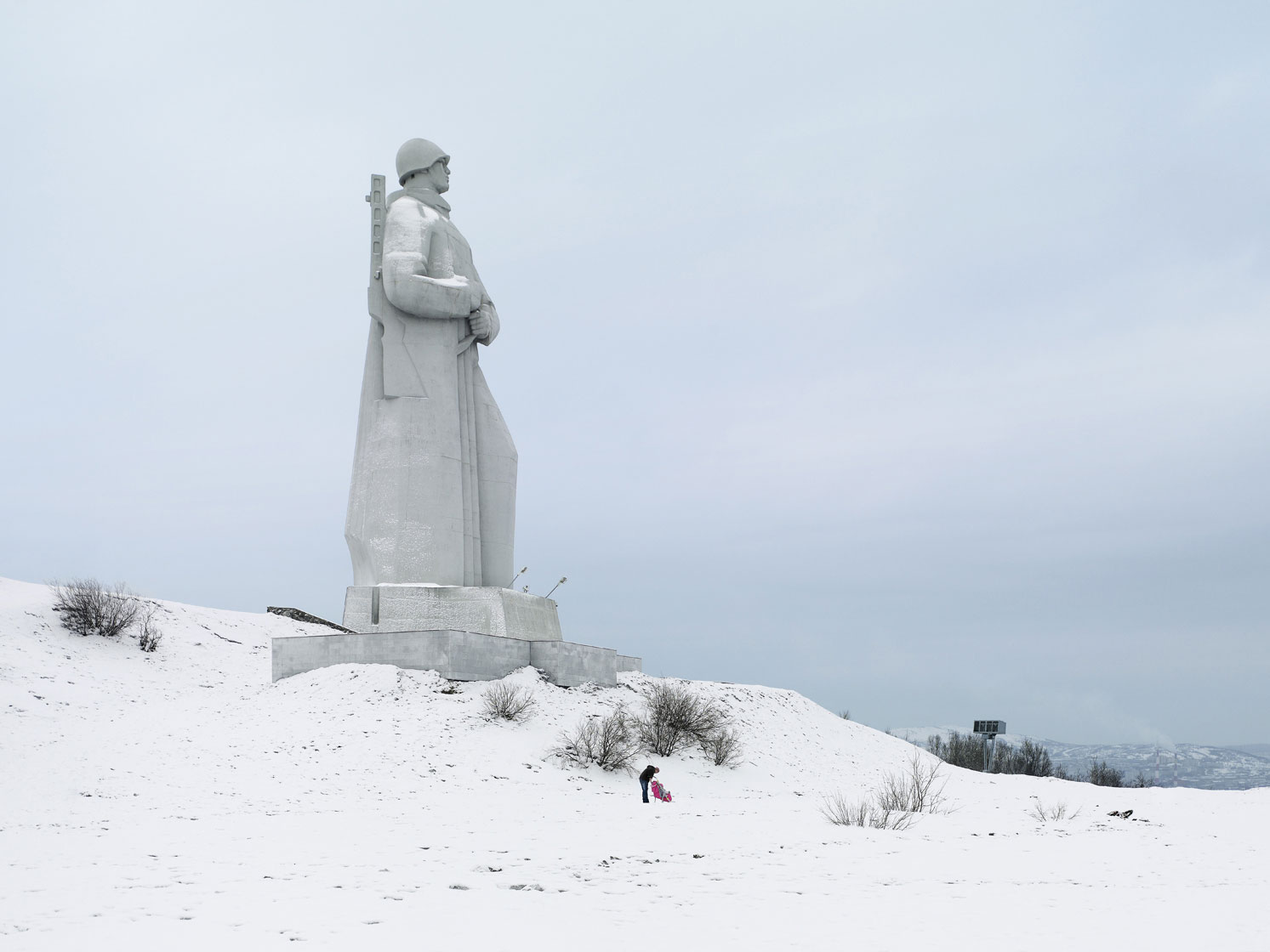 Alyosha Monument, 35.5 m (116.5 ft), 1974 - Murmansk, Russia