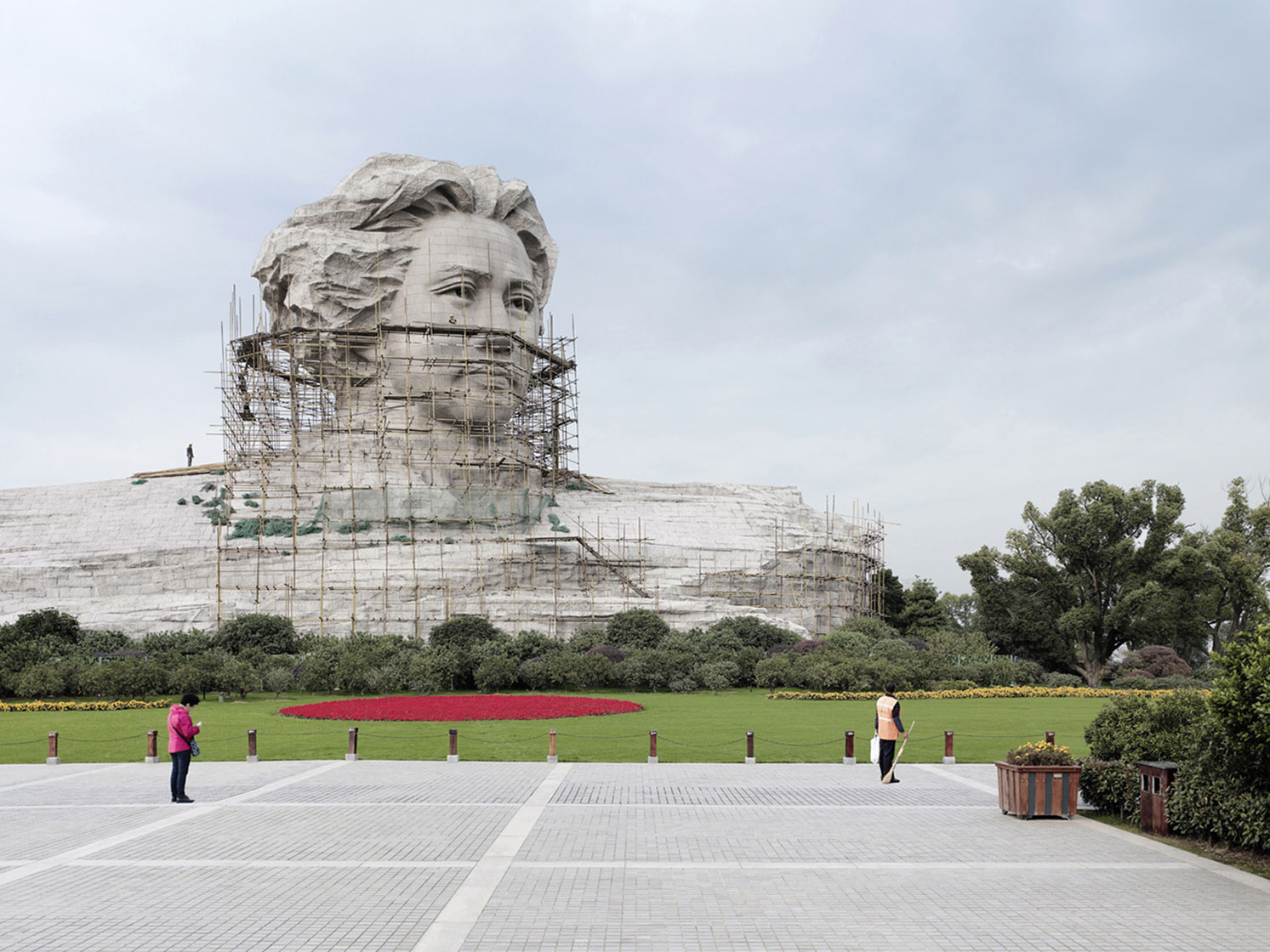 Mao Zedong, 32 m (105 ft), 2009 - Changsha, China