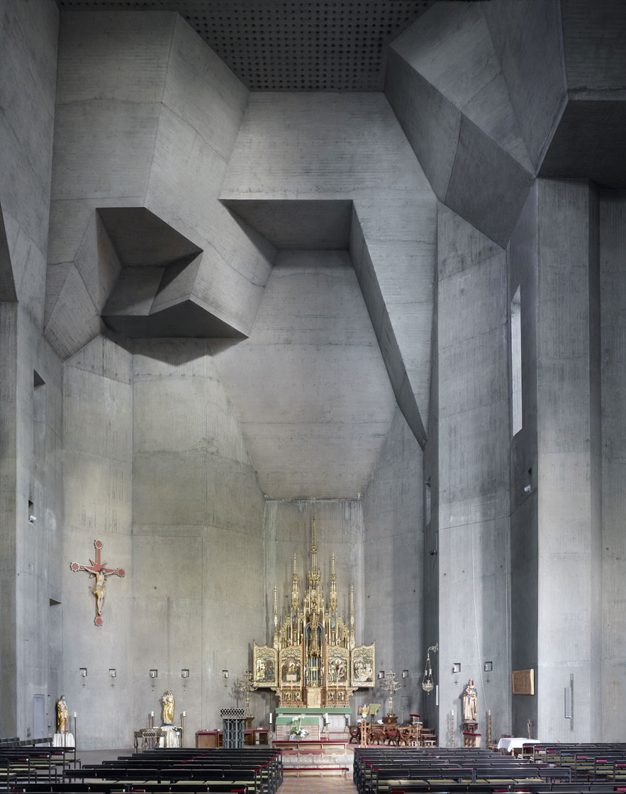 Saint Ludwig - Gottfried Böhm, 1970 - Saarelouis, Germany