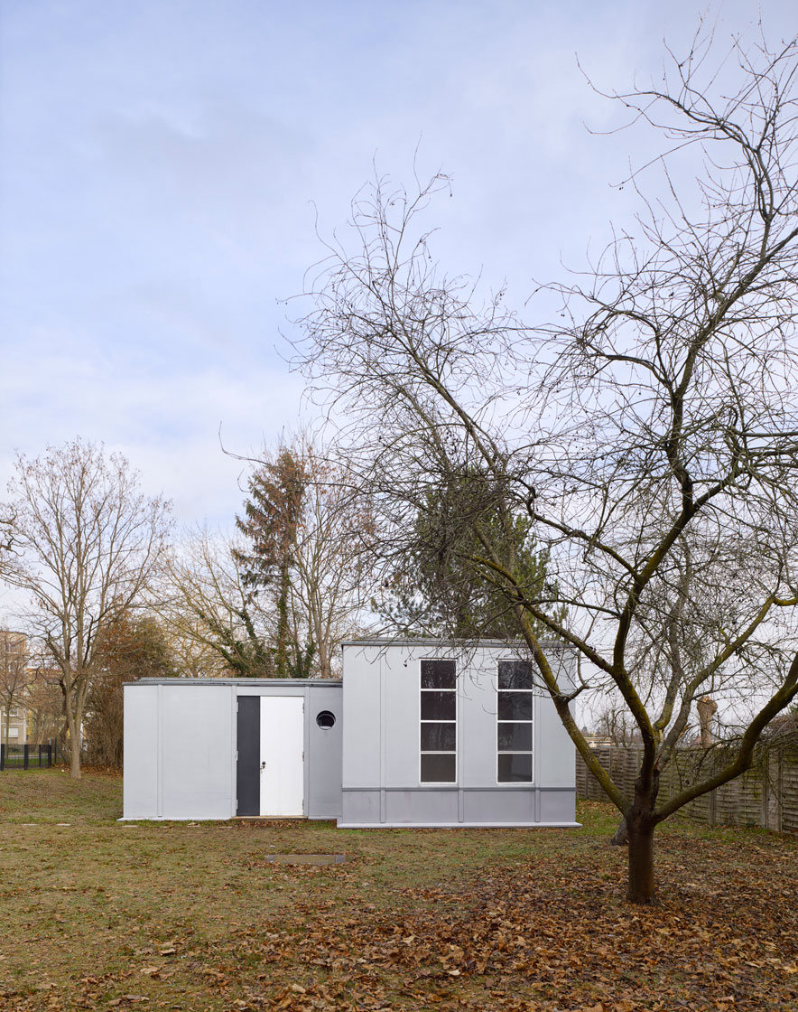 Steel House - George Muche, Richard Paulick, 1926–27 - Dessau, Germany