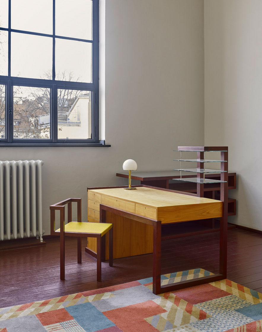 Walter Gropius's office, Bauhaus Arts School, 1922-23 - Weimar, Germany
