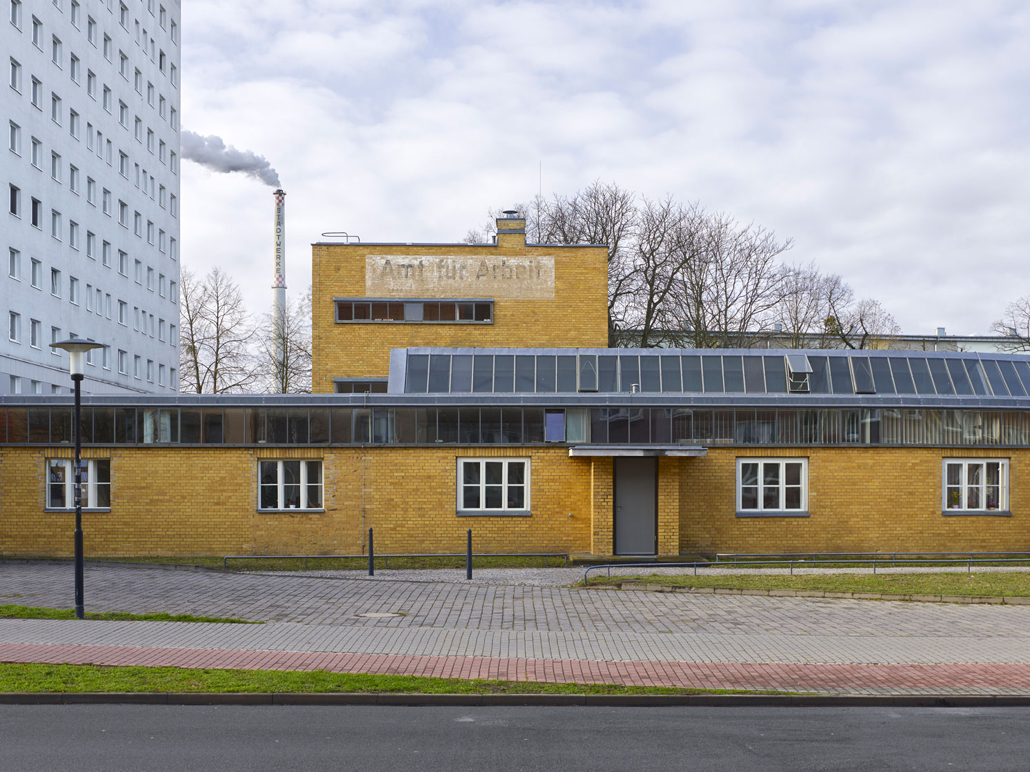 Dessau Employment Office building - Walter Gropius, 1929 - Dessau, Germany