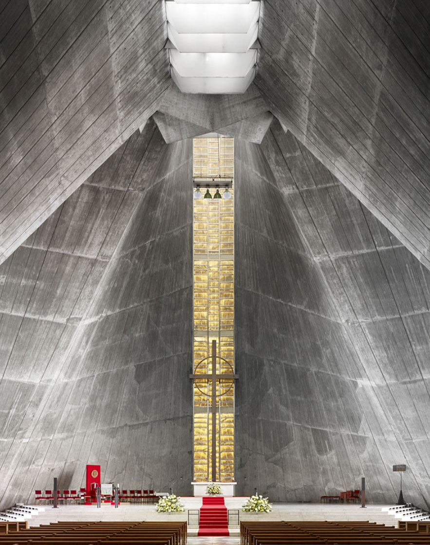 Saint Mary's Cathedral - Kenzo Tange, 1964 - Tokyo, Japan
