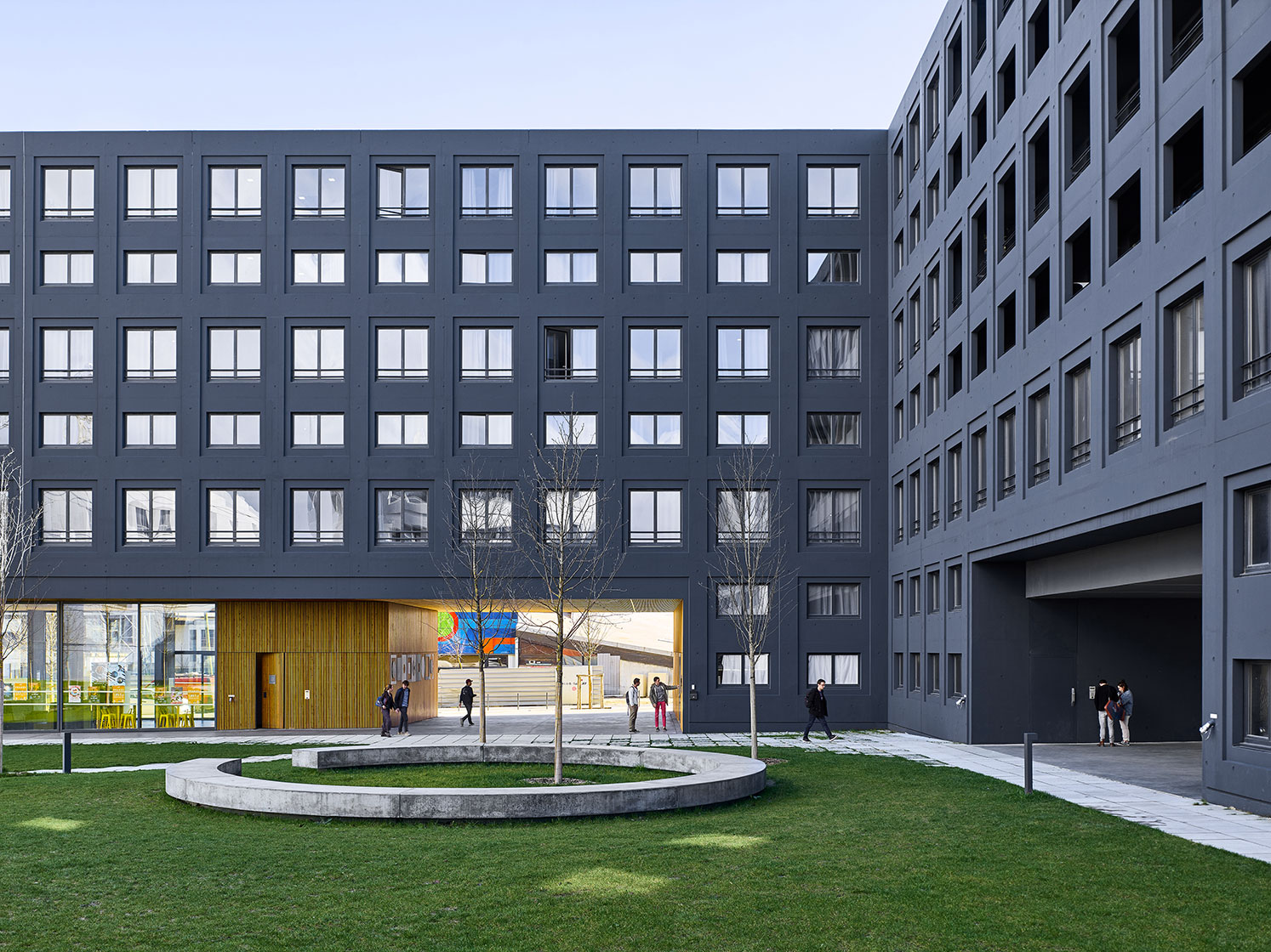 LAN, in Association with Clément Vergély and Topotek - Saclay, France
